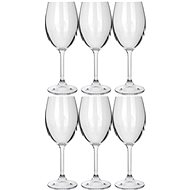 BANQUET Leona Crystal white wine 230 A11304 - Wine Glasses