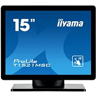 "15"" iiyama ProLite T1521MSC-B1 Touchscreen Black - LCD Touch Screen Monitor"
