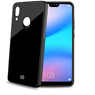 CELLY Diamond Tempered Glass and TPU for Huawei P20 Lite Black - Mobile Case