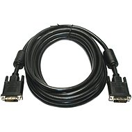 DVI-D connection to LCD (DVI-D <-> DVI-D), dual link, shielded, 5m - Video Cable