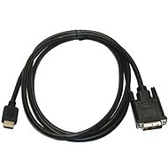 ROLINE DVI - HDMI connection cable, shielded, 3m - Video Cable