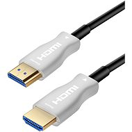PremiumCord HDMI, Fiber Optic High Speed with Ether. 4K @ 60Hz 25m cable, M/M, gold-plated connect - Video Cable