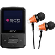 ECG PMP 30 8 GB Black - MP4 Player