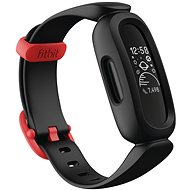 Fitbit Ace 3 Black/Racer Red - Fitness Tracker