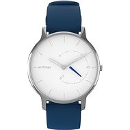 Withings Move Timeless Chic - White/Silver - Smartwatch