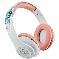 Gogen HBTM 42 STREET G White and Pink - Headphones with Mic