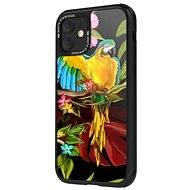 White Diamonds Jungle for Apple iPhone 11 - Macaw - Mobile Phone Case