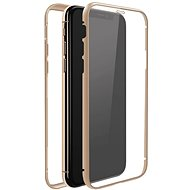 White Diamonds 360 ° Glass Case for Apple iPhone 11 - Gold - Mobile Phone Case