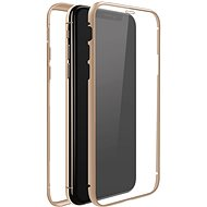 White Diamonds 360 ° Glass Case for Apple iPhone 11 Pro Gold - Mobile Phone Case