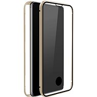 White Diamonds 360 ° Glass Case for Samsung Galaxy A71 - Gold - Mobile Phone Case