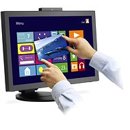 "23"" NEC MultiSync E232WMT - Touch screen LCD Monitor"