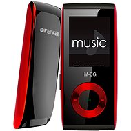 Orava M-8G - Red - MP4 Player