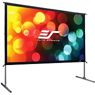 "ELITE SCREENS, Mobile Outdoor Tripod 150 ""(16: 9) - Projection Screen"