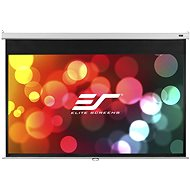 "ELITE SCREENS, manual pull-down screen 100"" (16:9) - Projection Screen"