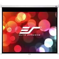 "ELITE SCREENS, manual pull-down screen 100"" (4:3) - Projection Screen"