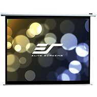 "ELITE SCREENS, Drop Down Projection Screen With an Electric Motor 110"" (16:9) - Projection Screen"