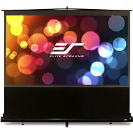 "ELITE SCREENS, telescopic rolling screen from the floor up 150"" (4:3) - Projection Screen"