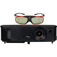 Optoma H114 Projector + Optoma ZD302 3D Glasses - Projector