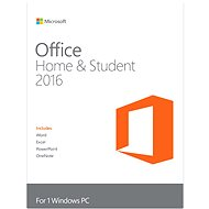 Microsoft Office Home & Student 2016 - Electronic license