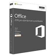 Microsoft Office Home and Business 2016 CZ for MAC - 1 user / 1 PC - Office Pack