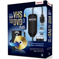 Easy VHS to DVD 3 Plus EN/FR/DE/ES/IT/NL - Software