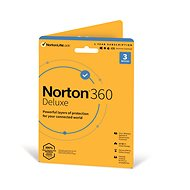 Norton 360 Deluxe 25GB CZ, 1 user, 3 devices, 12 months (Electronic Licence) - Antivirus program