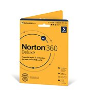 Norton 360 Deluxe 50GB CZ, 1 user, 5 devices, 12 months (Electronic Licence) - Antivirus program