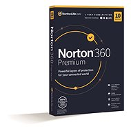 Norton 360 Premium 75GB CZ, 1 user, 10 devices, 12 months (Electronic Licence) - Antivirus program