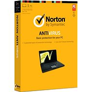 Symantec Norton Antivirus Basic 1.0 CZ, 1 user, 1 device, 12 months (electronic license) - Antivirus software