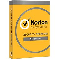 Norton Security Premium CZ, 1 User, 10 Devices, 2 Years (Electronic License) - Antivirus program