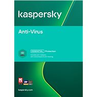 Kaspersky Anti-Virus for 2 PCs for 12 months (electronic license) - Antivirus software