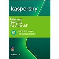 Kaspersky Internet Security for Android CZ Recovery for 1 mobile or tablet for 12 months (electronic - Security Software