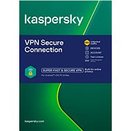 Kaspersky VPN Secure Connection for 5 Devices for 12 Months (Electronic License) - Internet Security