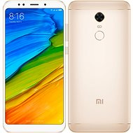 Xiaomi Redmi 5 Plus 32GB LTE Gold - Mobile Phone