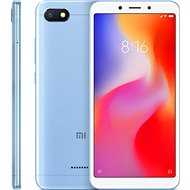 Xiaomi Redmi 6A 16GB LTE Blue - Mobile Phone