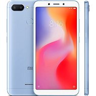 Xiaomi Redmi 6 3GB/64GB LTE Blue - Mobile Phone
