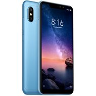 Xiaomi Redmi Note 6 Pro LTE 64GB Blue - Mobile Phone