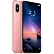 Xiaomi Redmi Note 6 Pro LTE 64GB Rose Gold - Mobile Phone