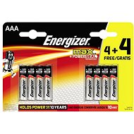 Energizer Max AAA 4+4 - Battery