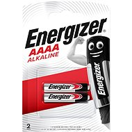 Energizer Special Alkaline Battery AAAA (E96/25A) 2 Pieces - Disposable batteries