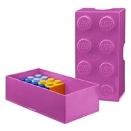 LEGO Box for snack 100 x 200 x 75 mm - pink - Snack box