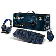 YENKEE AMBUSH Set - Black - CZ/SK - Mouse/Keyboard Set