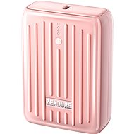 Zendure SuperMini - 10000mAh Credit Card Sized Portable Charger with PD (Pink) - Powerbank
