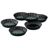 ZENKER Tart Moulds 6pcs BLACK METALLIC - Moulds