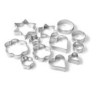 ZENKER 12pcs - 4 shapes - Biscuit Cutters