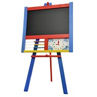 Drawing board stand with counter and clock - Board