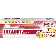 LACALUT Activ 75ml + toothbrush - Whitening Toothpaste