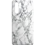 Mobile Case AlzaGuard - Huawei P30 Pro - White Marble - Kryt na mobil