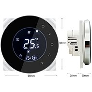 iQtech SmartLife GCLW-B, WiFi Thermostat for Boilers and Boilers with Potential-Free Switching, Black - Thermostat