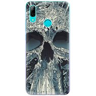 iSaprio Abstract Skull for Huawei P Smart 2019 - Mobile Case
